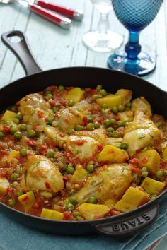 Curry Recipes, Meat Recipes, Chicken Recipes, Cooking Recipes, Healthy Recipes, Food C, Good Food, Confort Food, Food Garnishes