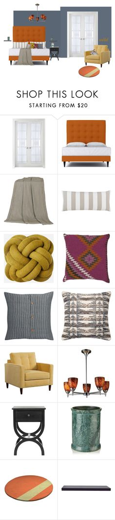 """""""wild"""" by jaylanjay ❤ liked on Polyvore featuring interior, interiors, interior design, home, home decor, interior decorating, Liz Claiborne, HiEnd Accents, Pine Cone Hill and Portico"""
