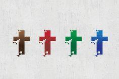 Church Logo By Lucion Creative Church Logo, Astros Logo, Houston Astros, Psd Templates, Team Logo, Photoshop, Logos, Creative, Design