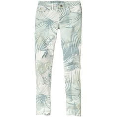 Gap 1969 Tropical Always Skinny Skimmer Jeans - mint (€37) ❤ liked on Polyvore featuring jeans, bottoms, pants, petite skinny jeans, skinny fit jeans, green skinny jeans, low rise jeans and skinny leg jeans