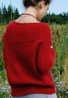 Vines cardigan: Knitty Deep Fall 2010
