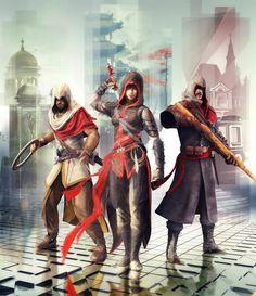 Arbaaz, Shao Jun & Nikolai | Assassin's Creed Chronicles India, China & Russia