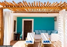colourful mexican resort | the style files