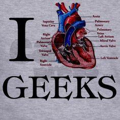 I heart Geeks hoodie!