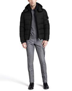 moncler daniel lightweight puffer jacket