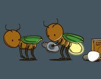 Tee Shirt Illustration - 2012 (Q3 - 1st Batch) by Chow Hon Lam, via Behance