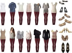 winter wardrobe pants - Google Search
