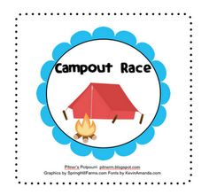Pitner's Potpourri: Campout Race for Expanded Form -- Freebie Common Core Activities, Math Activities, Math Lesson Plans, Math Lessons, Summer School Themes, School Ideas, Expanded Form, Expanded Notation, Student Teaching
