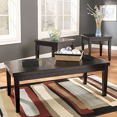 Signature Design by Ashley Denja 3 Piece Occasional Table Set ** Click image for more details.Note:It is affiliate link to Amazon.