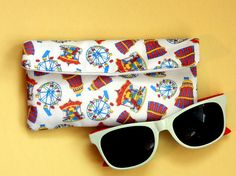 Funfair glasses pouch bright  colourful sunglasses case Etsy Uk, Newcastle, Printing On Fabric, Hand Drawn, Sunglasses Case, How To Draw Hands, Best Gifts, Etsy Seller, Pouch