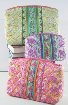 Filligree Double-Zip Pouches Pattern Download