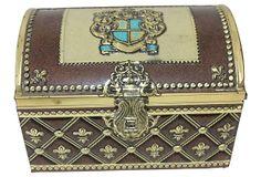 Treasure Chest Tin Box