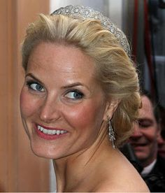 The Royal Order of Sartorial Splendor: Tiara Thursday: The Next 15-The Diamond Daisy Tiara:  Princess Mette Marit of Norway