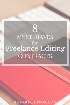 What should you put in your freelance editing contract? Here are some tips to get started and set you and your client up for success!