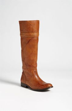 Frye 'Melissa Trapunto' Boot   Nordstrom - one of my personal favorites. Teeters between an equestrian and a hard core cow girl boot. Exceptional quality leather. Delicious! Call during business hours 847-605-2121 x1300 ask for 'Courtney' to order.