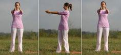 Katichakrasana Yoga Pose - Standing Spinal Twist Yoga Pose