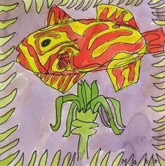 Fish, child -8- with Britta Johanson