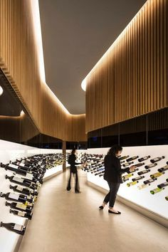 Coolest wine shop design to be found anywhere...