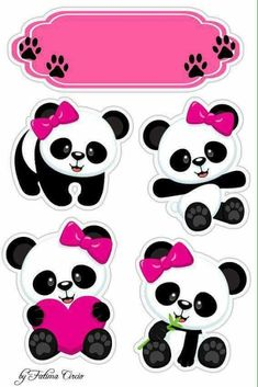 Panda  #mesversario Panda Themed Party, Panda Birthday Party, Bear Party, Panda Bebe, Cute Panda, Bolo Panda, Panda Decorations, Panda Baby Showers, Panda Wallpapers
