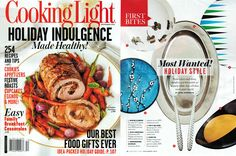 Cooking Light - most wanted holiday style, December 2012, Manako Serving Bowl