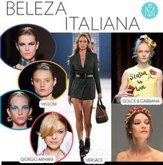 Beleza Italiana – de olho na passarela!