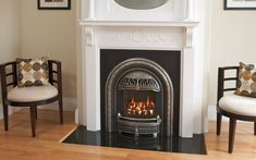 Victorian Fireplace Shop offers small gas inserts & electric fireplace Inserts with a historic flair that are designed to fit coal fireplaces. Gas Fireplace Insert Cost, Direct Vent Gas Fireplace, Propane Fireplace, Fireplace Inserts, Fireplace Design, Fireplace Tiles, Fireplace Screens, Transitional Living Rooms, Home