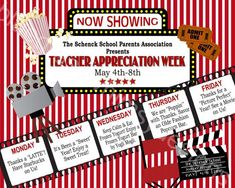 Teacher Appreciation Week Sign Printable 16 x by BluegrassWhimsy