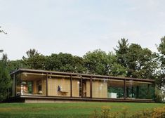 Prefab Glass House Makes Picture-Perfect Rural Retreat - Adventures in Architecture - Curbed
