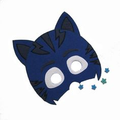 Felt masks for kids and adults. Buy and play fun от FeltMaskShop Pj Party, Mask Party, Felt Mask, Pj Mask, Halloween Masks, Mask For Kids, Party Favors, Hero, Cartoon