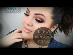 Plum Smokey Eye - #makeup #eyes #eyeshadow #smokeyeye #tutorial #makeupbyjeniffer - bellashoot.com
