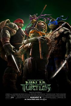 TEENAGE MUTANT NINJA TURTLES (2014): When a kingpin threatens New York City, a group of mutated turtle warriors must emerge from the shadows to protect their home.