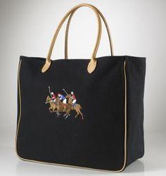 ralph lauren polo tote bag please.