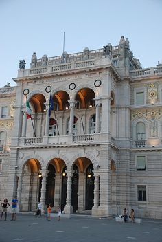 Piazza dell'Unita, Trieste,Friuli Venezia Giulia, Italy