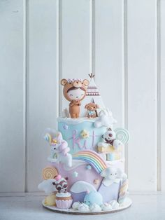 Kawaii Dream Land | Cottontail Cake Studio | Sugar Art & Pastries