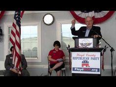 GA Ins. Commissioner Ralph Hudgens - Tillman Hangar 2013 Where is General Sherman now that we need him?