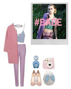 """#babe"" by zowealice ❤ liked on Polyvore featuring Polaroid, Miu Miu, Chicnova Fashion, MANGO, Semilla, Marc Jacobs and Accessorize"