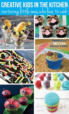 Kids in the Kitchen. Creative ideas for kids who love to cook