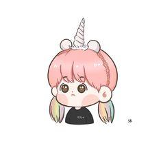 Baekhyun in Bangkok Baekhyun, Exo, Bts Chibi, Pikachu, Hello Kitty, Fan Art, Funny, Fictional Characters, Bangkok