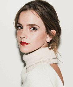 """Emma Watson photographed by Jake Rosenberg for Coveteur (2017) """