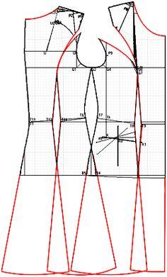 """Примеры моделей платьев разработанных на основах рассчитанных в программе """"Закройщик"""""""
