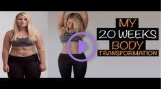 Beach Body Transformation - Only 20 weeks Freeletics Running! Amanda Lee, Hiit, Skinny To Muscle, 6 Month Body Transformation, Massage, Gewichtsverlust Motivation, 20 Weeks, Fitness Journal, Fitness Magazine