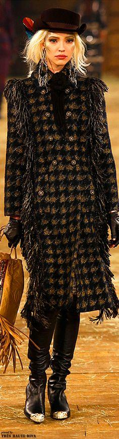 Chanel Pre-Fall 2014 Dallas   www.vogue.com/...