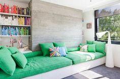 betoni, sohva