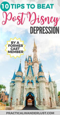 You know that feeling after you return home from an amazing Disney vacation and you feel like nothing will ever be fun again? That's Post Disney Depression. It's totally a thing, and here's how to get through it, one booze-soaked Disney movie binge-fest at a time! Disney World Travel   Disneyland Tips   Disney Parks Travel   Disney World Tips   Disney Cast Member Tips #Disney