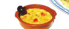 Te invitamos a probar #receta mediterránea, un plato buenísimo de #fideos campo y mar para comer en #familia