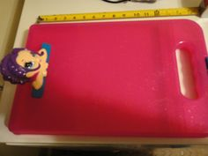Lisa Frank Pink Clipboard Metro Girl ? Glamor Girl ? Sparkly Clip Board
