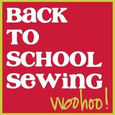 Back To School Sewing - a collection of sewing projects and tutorials to get ready for school #sewing #crafts #school #kids #backtoschool