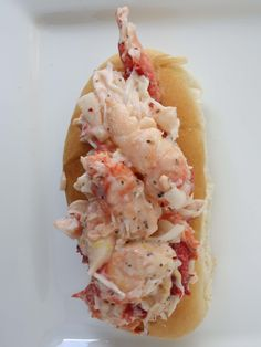 King Crab Rolls: Delicious Eating - The Culinary Exchange Fish Recipes, Seafood Recipes, Cooking Recipes, Crab Dishes, Seafood Dishes, Crab Rolls Sandwich, Lobster Sandwich, Lobster Meat, Salads