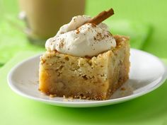 """Irish Cream coffee bars. """"Deliciously decadent bars with liqueur, coffee and a foolproof sugar cookie mix."""""""