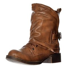 Blowfish Womens Kaution Laces and Wrap Around Winter Ankle Boot UK3 - EU36 - US5 - AU4 Whiskey Old Saddle *** Check this awesome product by going to the link at the image.